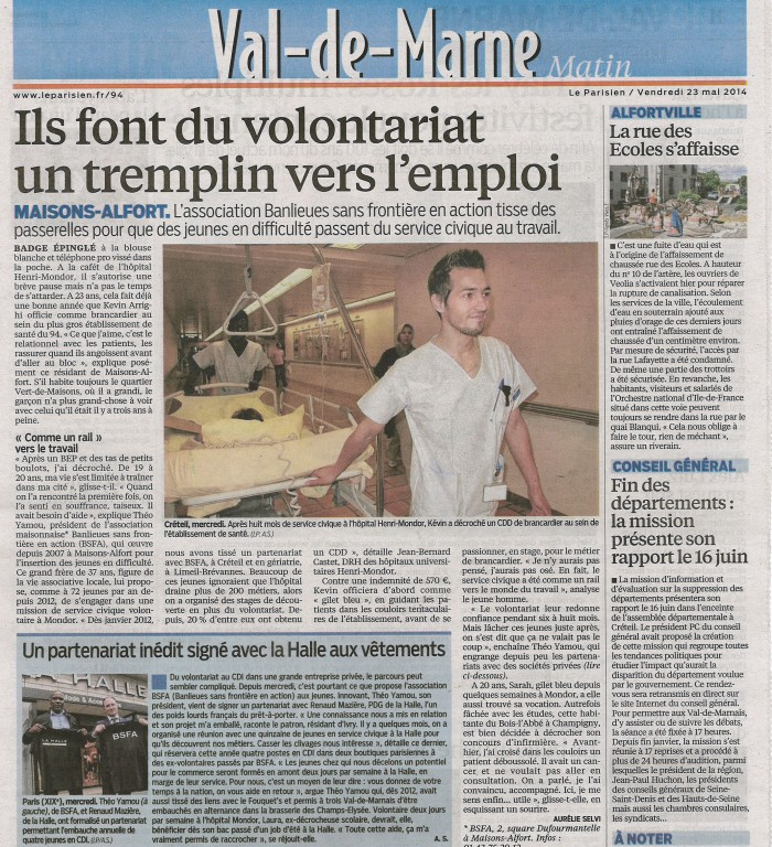 Article Le Parisien BSFA